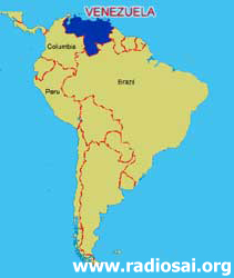 Sai Movement In Venezuela - Map of venezuela south america