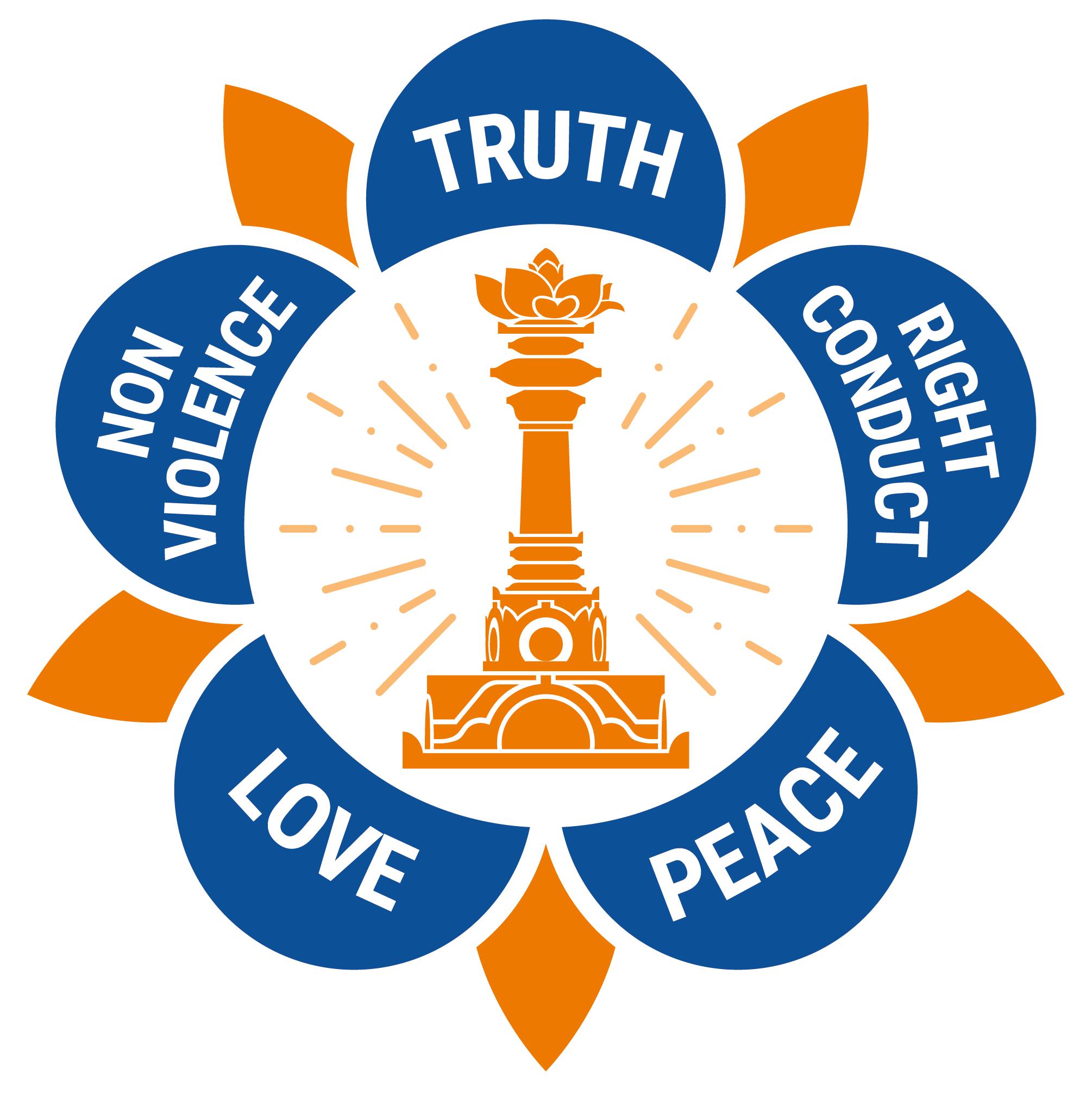 logo of the sathya sai international organisation sathya
